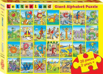 Giant Alphabet Puzzle by Lyn Wendon