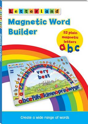 Magnetic Word Builder by Lyn Wendon