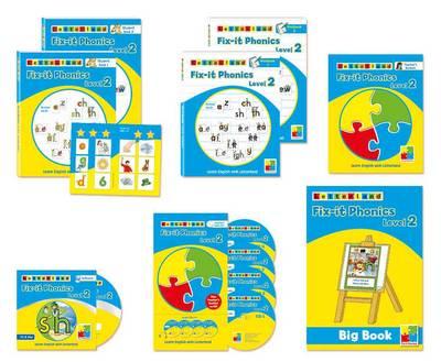 Fix it Phonics Teacher's Pack by Lisa Holt, Lyn Wendon