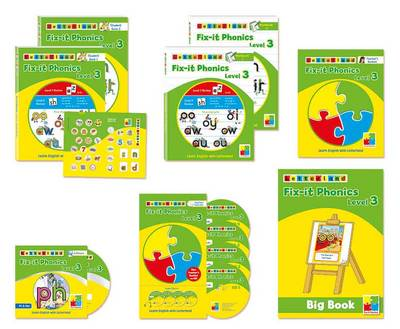 Fix it Phonics Teacher's Pack by Lisa Holt, Lyn Wendon