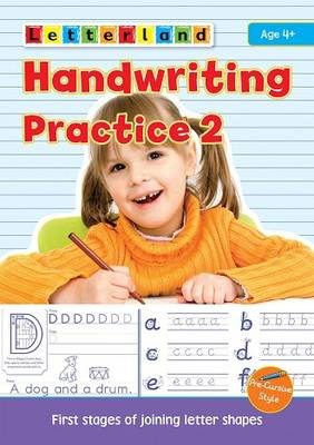 Handwriting Practice Learn to Join Letter Shapes by Lisa Holt