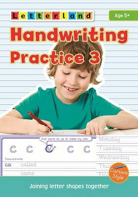 Handwriting Practice Joining Letter Shapes Together by Lisa Holt