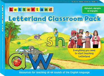 Letterland Classroom Pack Essential Primary Teaching Resources by Lyn Wendon