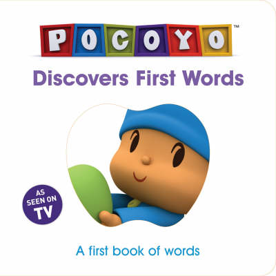 Pocoyo Discovers First Words A First Book of Words by Red Fox