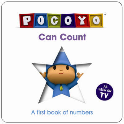 Pocoyo Can Count A First Book of Counting by Red Fox