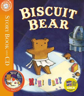 Biscuit Bear by Mini Grey