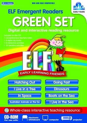 ELF Readers - Green Set by Peter Sloan, Sheryl Sloan