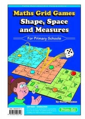 Maths Grid Games Shape, space and measures by David Thomas