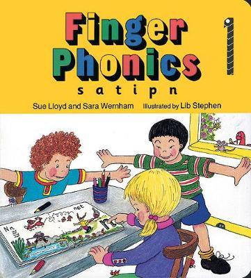 Finger Phonics In Precursive Letters (BE) by Susan M. Lloyd, Sue Lloyd, Sara Wernham
