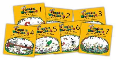 Jolly Phonics Workbooks by Sue Lloyd, Susan M. Lloyd, Sara Wernham