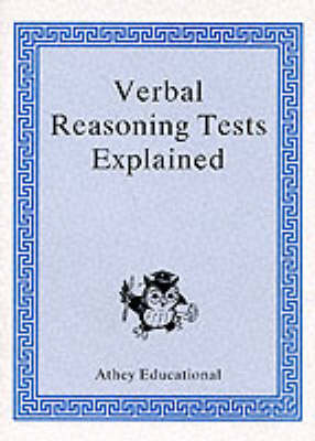 Secondary Selection Porfolio Verbal Reasoning Tests Explained by Lionel Athey