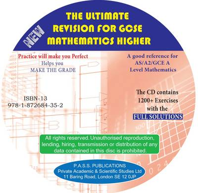 The Ultimate Revision for GCSE Mathematics Higher Tier Questions and Full Solutions by Anthony Nicolaides