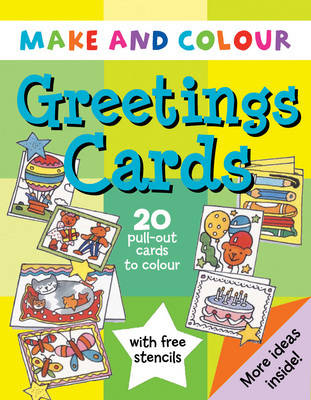 Make and Colour Greetings Cards by Clare Beaton