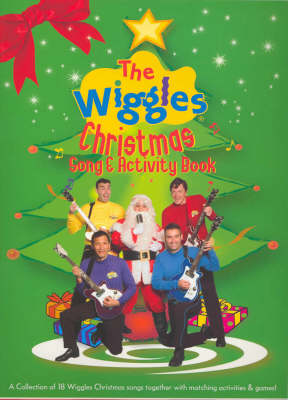 The Wiggles Christmas Song and Activity Book by Adam Dal Pozzo