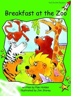 Breakfast at the Zoo Early by Pam Holden