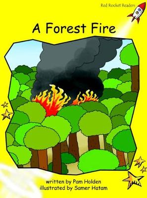 Forest Fire Early by Pam Holden