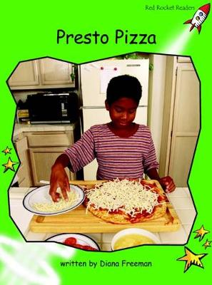 Pizza Presto Early by Diana Freeman