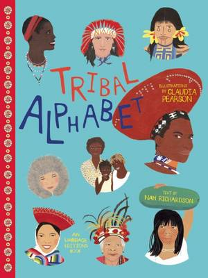 Tribal Alphabet by Claudia Pearson