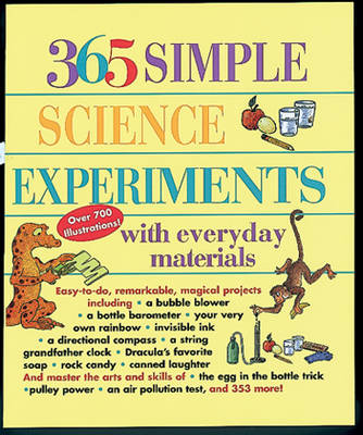 365 Simple Science Experiments by CHURCHILL