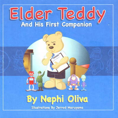 Elder Teddy and His First Companion by Nephi Oliva