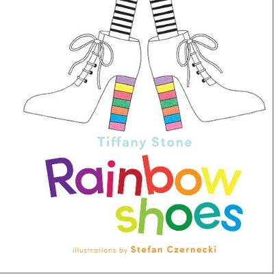 Rainbow Shoes by Tiffany Stone