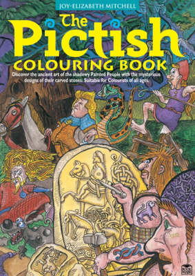 The Pictish Colouring Book by Joy Elizabeth Mitchell