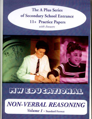 Non-verbal Reasoning 11+ Practice Papers with Answers by Mark Chatterton