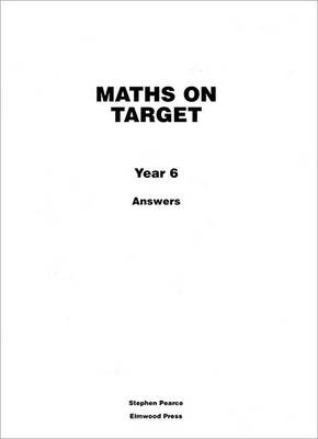 Maths on Target Answers by Stephen Pearce