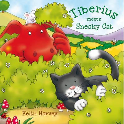 Tiberius Meets Sneaky Cat by Keith Harvey