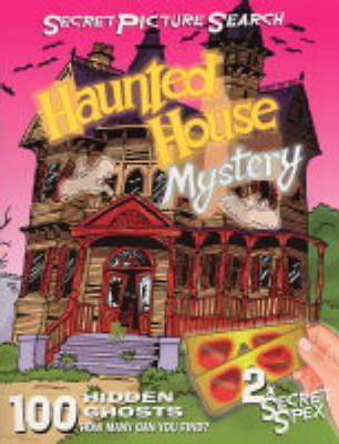 Haunted House Mystery Secret Picture Search by John Starke, Suzie Starke