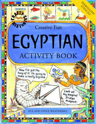 Egyptian Activity Book by Sue Weatherill, Steve Weatherill