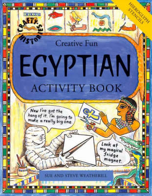 Egyptian Activity Book by Steve Weatherill, Sue Weatherill