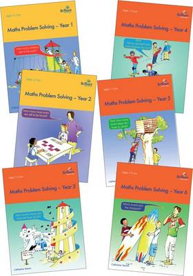 Maths Problem Solving Series Pack Maths Problem Solving, Year 1, 2, 3, 4, 5, and 6 by Catherine Yemm, Frank Endersby