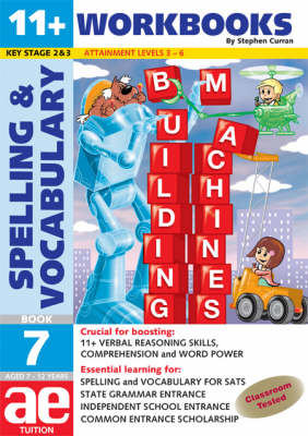 11+ Spelling and Vocabulary Workbook Intermediate Level by Stephen C. Curran, Warren J. Vokes