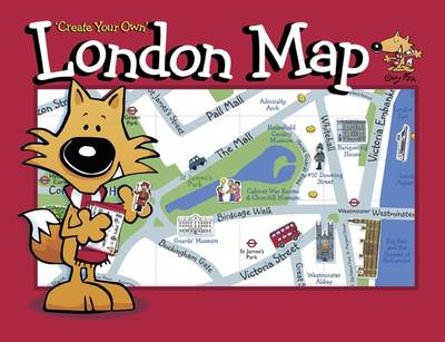Guy Fox 'Create Your Own' London Map by Kourtney Harper