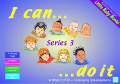 Little Baby Books Set 3 I Can Do it, Let's Listen, Make Your Mark, Which One? by Sally Featherstone, Clare Beswick