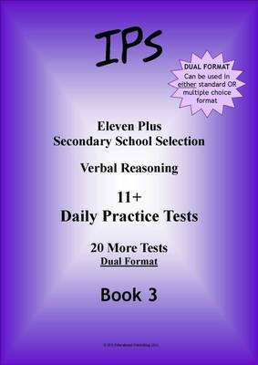 Verbal Reasoning 11+ Daily Practice Tests by