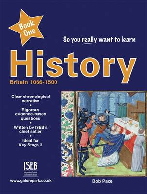 So You Really Want to Learn History A Textbook for Key Stage 3 and Common Entrance by Robert Pace