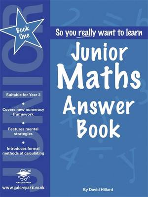 Junior Maths Answers by David Hilliard