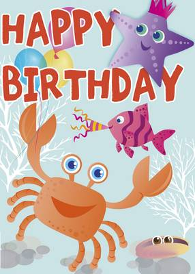 Happy Birthday - Under the Sea by Saroj Patel
