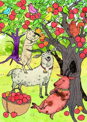 The Three Billy Goats Gruff (A Story Card) by Kate Ware