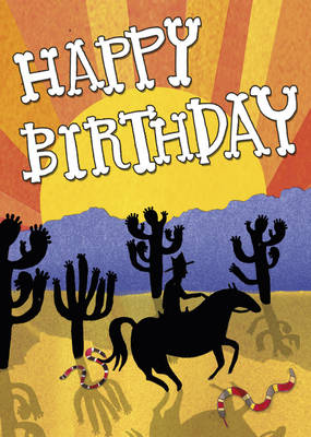 Happy Birthday - Wild West by Alice Lickens