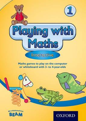 Playing with Maths Interactive 1 CD ROM (3-4 Year Olds) by Sheila Ebbutt