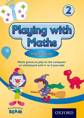 Playing with Maths Interactive 2 CD ROM (4-5 Year Olds) by Sheila Ebbutt