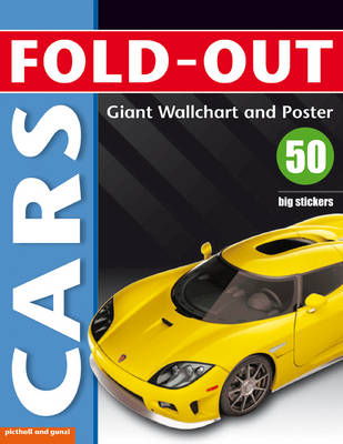 Fold-out Cars Sticker Book by Paul Calver