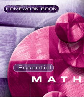 Essential Maths 7c Homework Book by David Rayner, Michael White