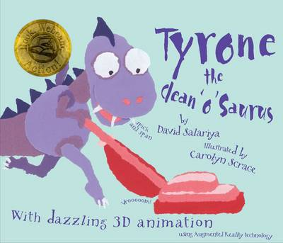Tyrone the Clean 'o' Saurus by David Salariya