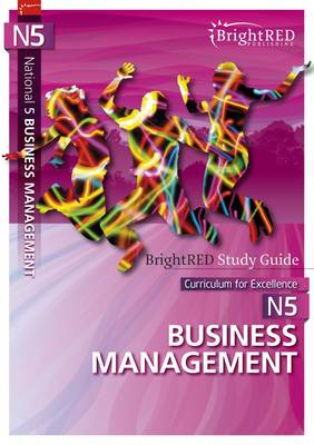 BrightRED Study Guide: National 5 Business Management by