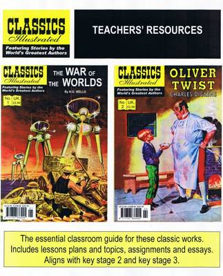 The War of the Worlds AND  Oliver Twist by Classics Illustrated Education, Charles Dickens, H. G. Wells