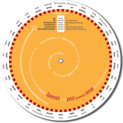 Easy to Use Spanish Verb Wheel for GCSE Past (Preterite) Tense by A.W. Craig, W.M. Craig